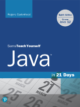 The cover of Teach Yourself Java in 21 Days (8th Edition) by Rogers Cadenhead