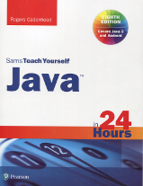 The cover of Teach Yourself Java in 24 Hours (8th Edition) by Rogers Cadenhead