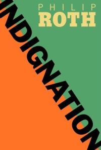 Cover of Philip Roth's novel Indignation