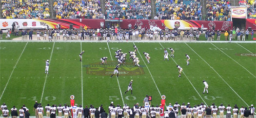 ACC Championship game in 2006 between Wake Forest and Georgia Tech