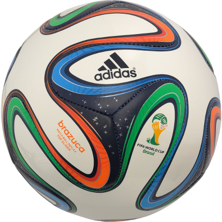World Cup 2014 soccer ball, Adidas Brazuca