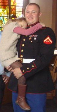 Marine Lance Cpl. Alec R. Terwiskie