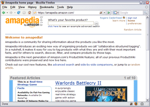 Amapedia Home Page