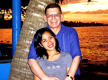 Art Bell and wife Airyn Ruiz Bell