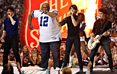 The Jonas Brothers and Big Rob