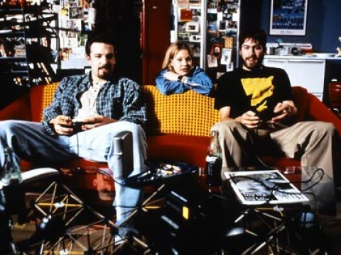 Chasing Amy movie by Kevin Smith starring Ben Affleck, Jason Lee and Joey Lauren Adams