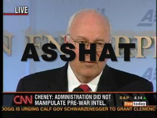 Subliminal Message about Vice President Dick Cheney