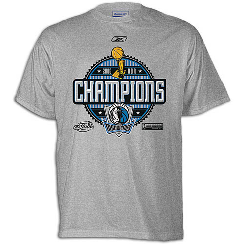 Dallas Mavericks NBA Champions 2006 T-shirt