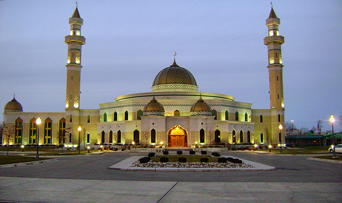 Photo of Detroit mosque by Just Us 3 on Flickr