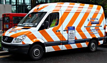 Evening Standard van