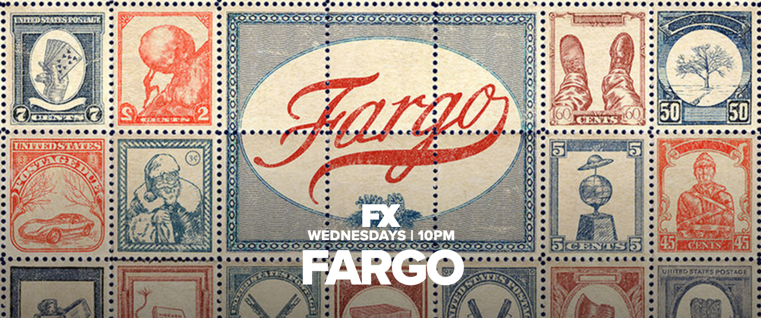 Fargo FX TV series season three stamps promo