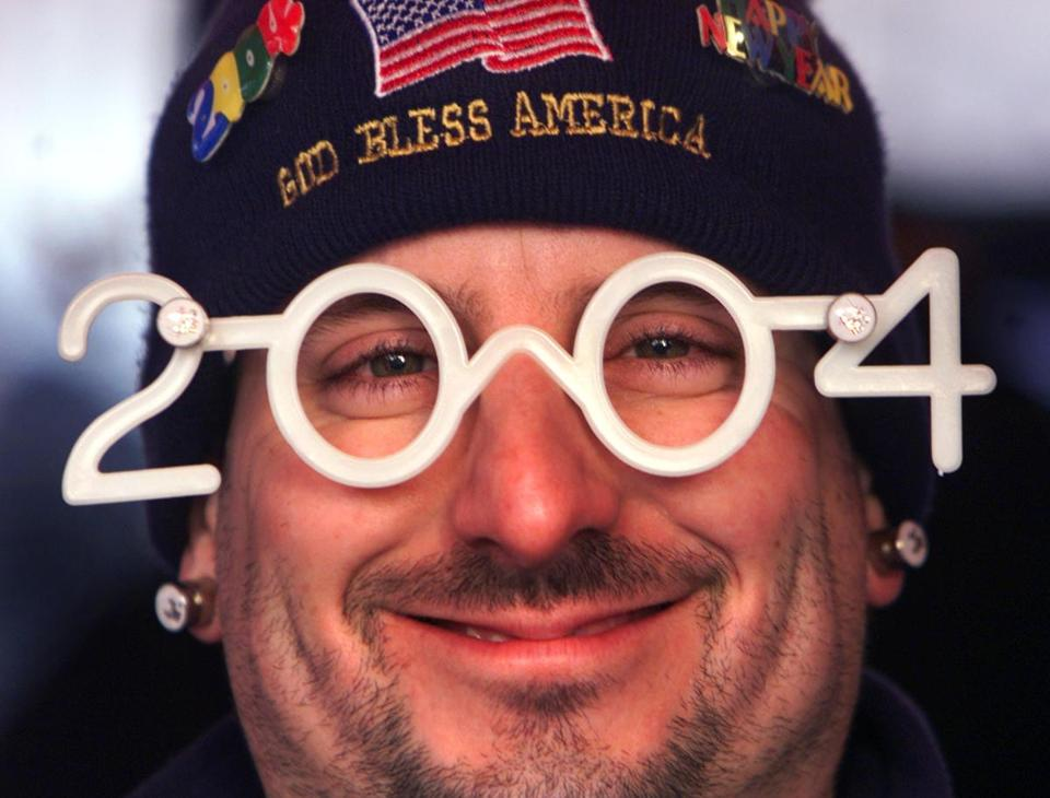 Ray Dureault in 2004 glasses, photo by John Tlumacki of the Boston Globe