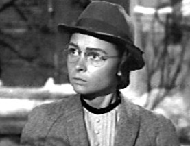 Mary Hatch, spinster librarian from It's a Wonderful Life