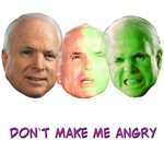 John McCain as Dr. Bruce Banner by Diculous Designs
