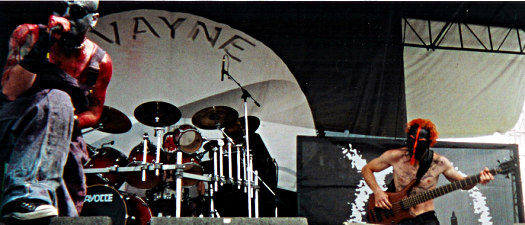 Mudvayne performs at Ozzfest, photo by when1_8becomes_2zero