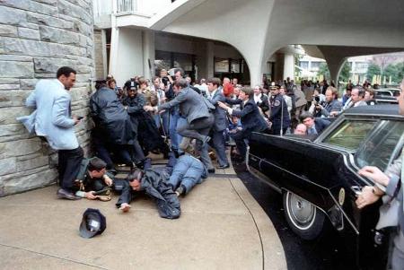 Reagan shot in March 1981