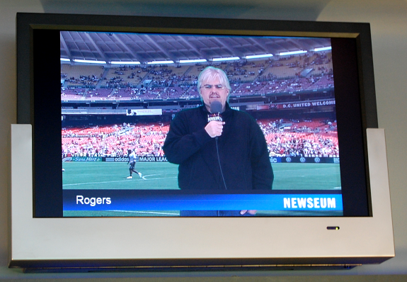 Rogers Cadenhead reporting for the Newseum Network News