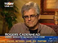 Rogers Cadenhead on Today Show