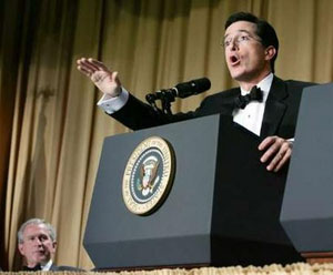 Stephen Colbert at the White House Correspondents Dinner
