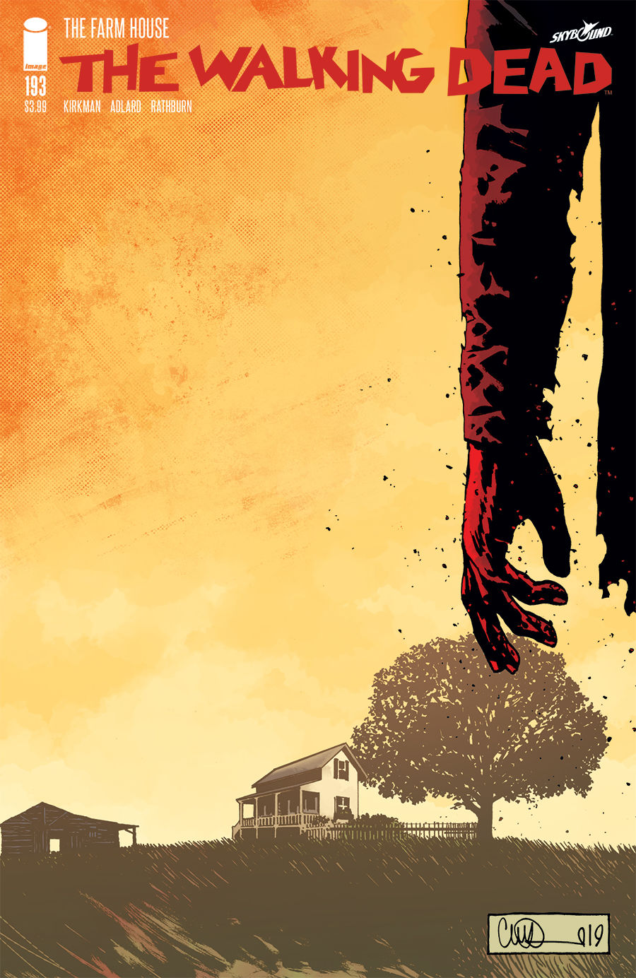 Cover of The Walking Dead 193 by Robert Kirkman, Charlie Adlard and Cliff Rathburn