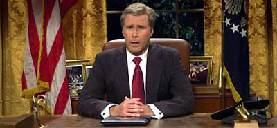 Will Ferrell as President Bush